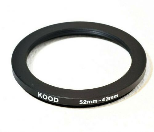 Stepping Ring 52-43mm 52mm to 43mm Step Down Ring Stepping Rings 52mm-43mm